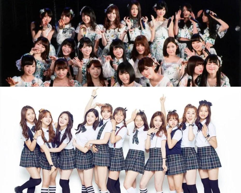 AKB48 et I.O.I