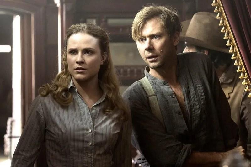 Jimmi Simpson et Evan Rachel Wood Westworld saison 2