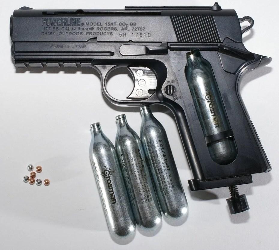 pistolets BB