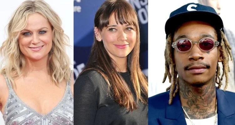 Amy Poehler, Rashida Jones et Wiz Khalifa