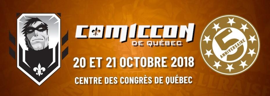 Comiccon de Québec 2018