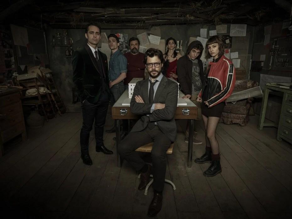 La maison de papier saison 3