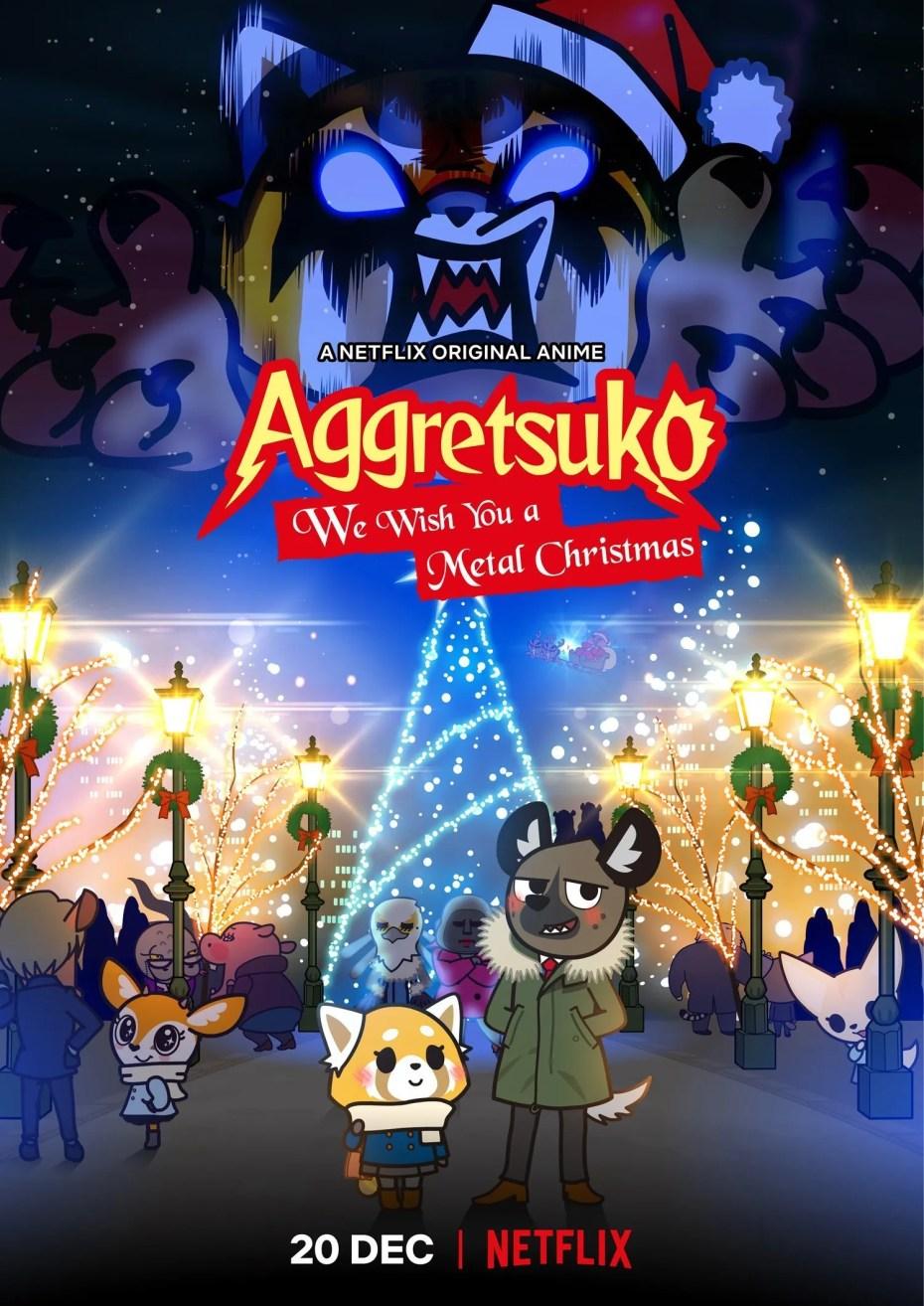 Aggretsuko : Joyeux Noël et bon métal!