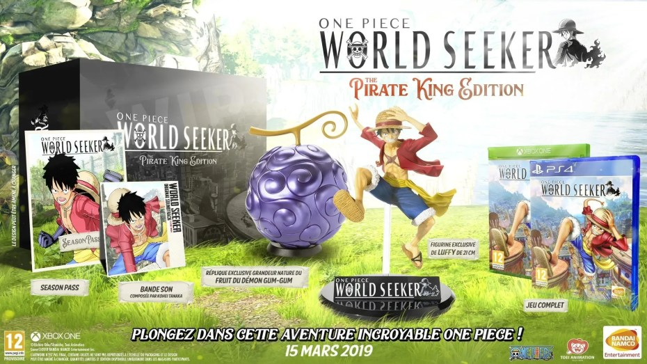 One Piece: World Seeker The Pirate King Edition