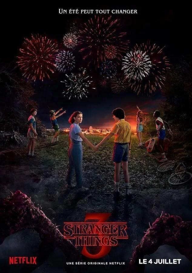 Stranger Things saison 3 poster
