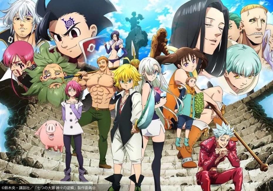 Seven Deadly Sins Kamigami no Gekirin