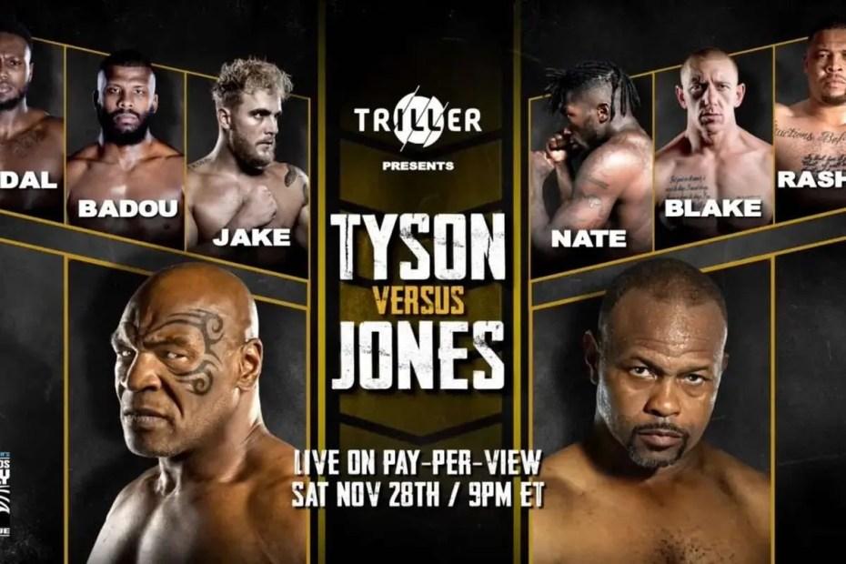 Mike Tyson vs. Roy Jones Jr