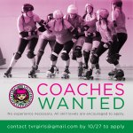 TVRD 2017-2018 Coaching Positions