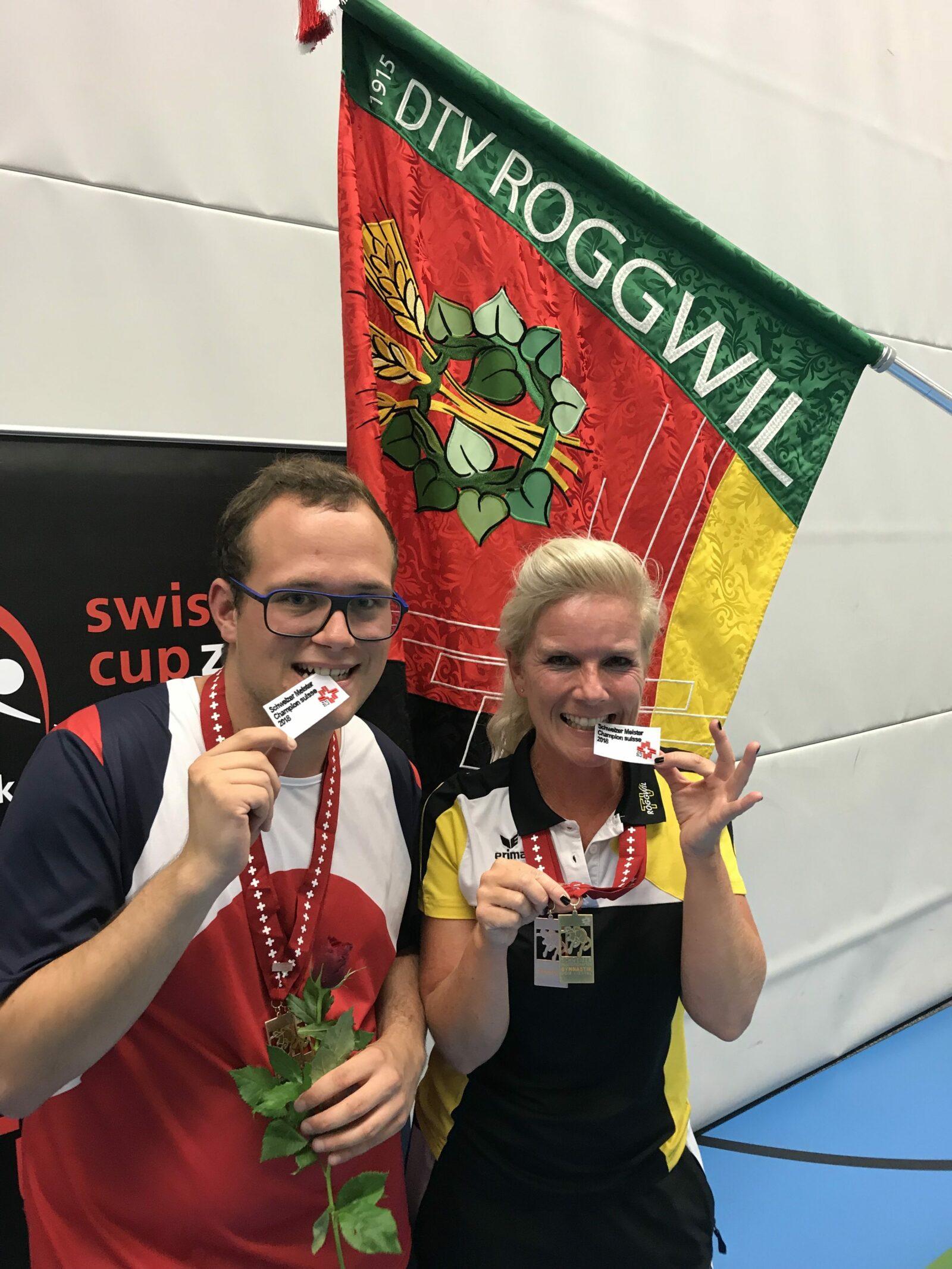 Schweizermeisterschaften Gymnastik Einzel und zu Zweit in Liestal 2018