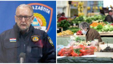 Photo of Hrvatska ublažuje mjere: 'Odluka o otvaranju tržnica možda već sutra'