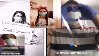 Photo of Sarajevski srednjoškolci videom podržali profesore: Poželjeli smo vas!