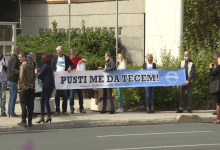 "Photo of TVSA/Video: Održani protesti pred zgradom Vlade Federacije pod nazivom ""Pet do 12 za naše rijeke"""