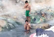Photo of Tužni prizori: Migranti se kupaju na Ilidži uprkos minusima