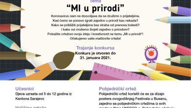 Photo of Konkurs za crtež djece KS u sklopu Međunarodnog filmskog festival djece i mladih