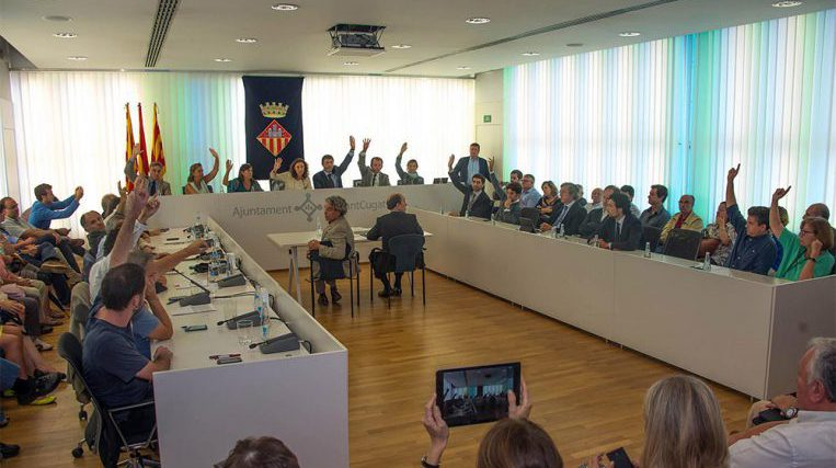 El Ple d'abril commemora els 40 anys d'ajuntaments democràtics