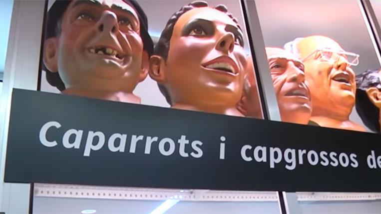 Els Caparrots s'exhibiran de forma permanent a la Casa de Cultura