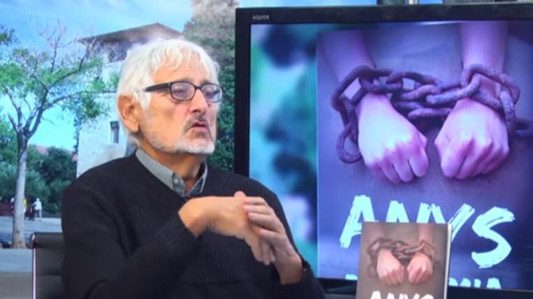 """""""Anys d'infàmia"""", la darrera novel·la de l'escriptor Àngel Comas"""