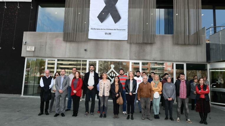 Minut de silenci amb motiu del Dia Europeu de les Víctimes de Terrorisme