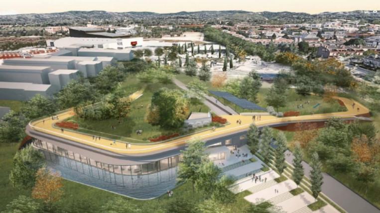 Com serà la nova biblioteca central de Sant Cugat?
