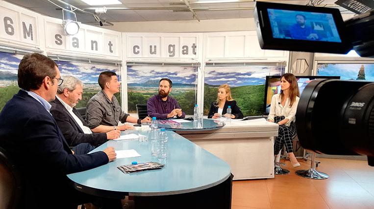 TV Sant Cugat ha celebrat el segon debat electoral de les eleccions municipals
