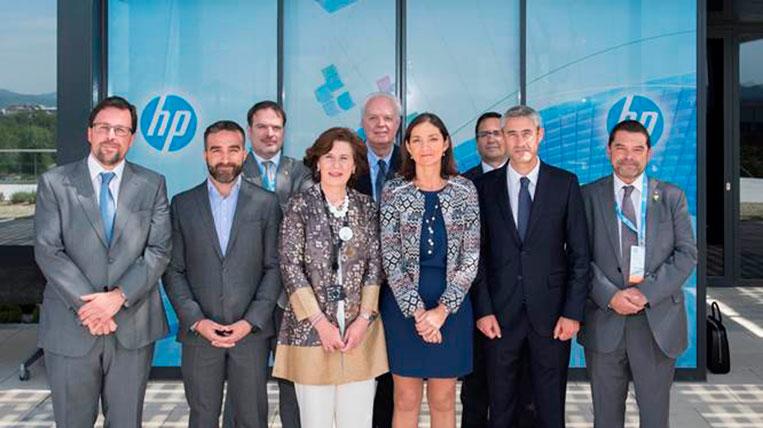 Hewlett Packard inaugura el nou centre d'investigació en impressió 3D al seu campus de Sant Cugat