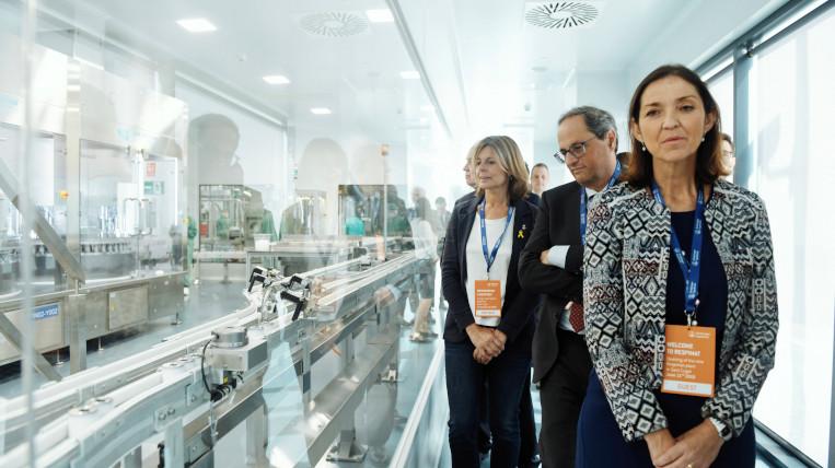 El president Torra inaugura la planta de Respimat de Boehringer que generarà 200 llocs de treball