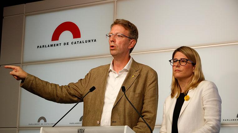 JuntsxCat trencaria el seu pacte amb el PSC a la Diputació a canvi que ERC revertís acords com el de Sant Cugat