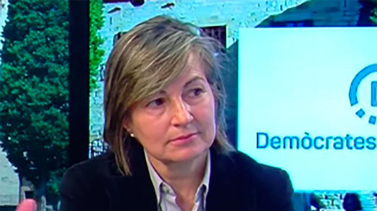 Mor Rosa Peris, del secretariat de l'ANC de Sant Cugat