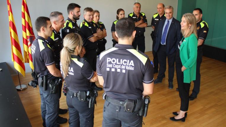 Sant Cugat suma set nous agents de Policia Local