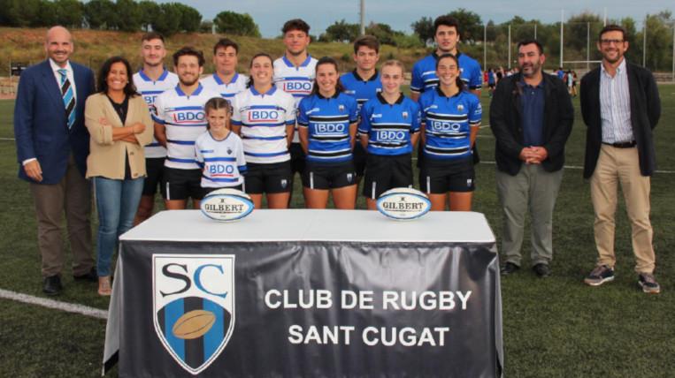 El Club Rugby Sant Cugat s'estrena a la Divisió d'Honor