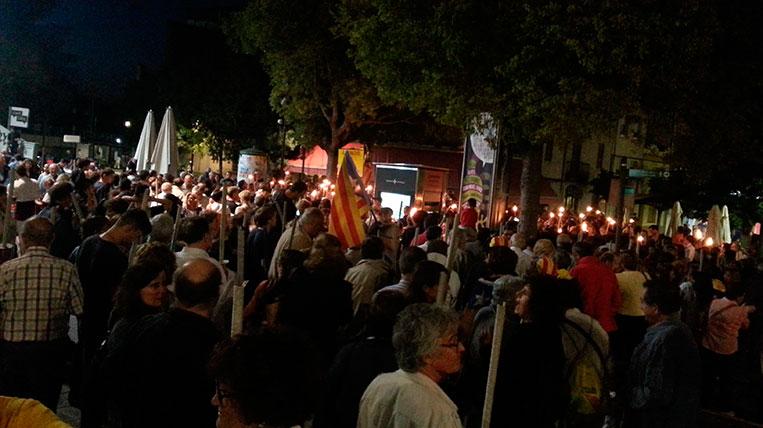 Òmnium Sant Cugat convoca la cinquena marxa de torxes en memòria de les víctimes de 1714