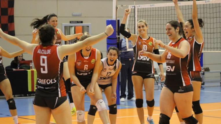El Club Voleibol Sant Cugat se sent perjudicat davant el possible descens de categoria del primer equip femení