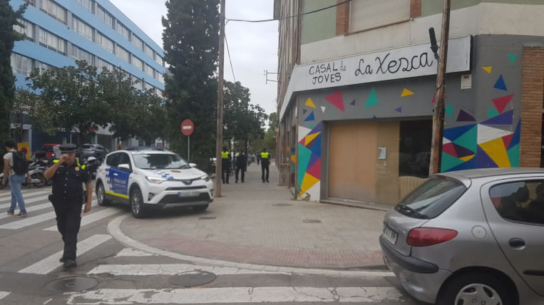 La Policia Local demana el desallotjament voluntari de La Xesca
