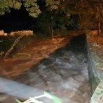 Inundacions i caigudes d'arbres pel temporal amb fortes precipitacions