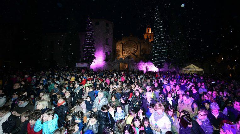 Saps quan serà l'encesa de llums de Nadal a Sant Cugat?