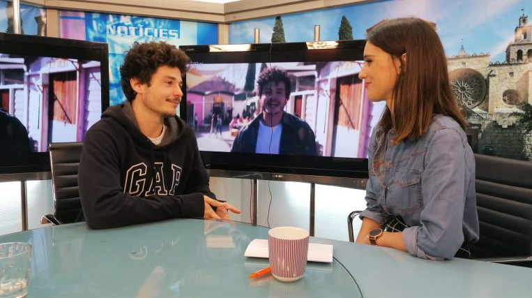 "L'eurovisiu Miki Núñez ens presenta el seu nou treball ""Amuza"""