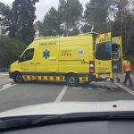 Un ferit lleu en un accident entre dos vehicles a l'Arrabassada