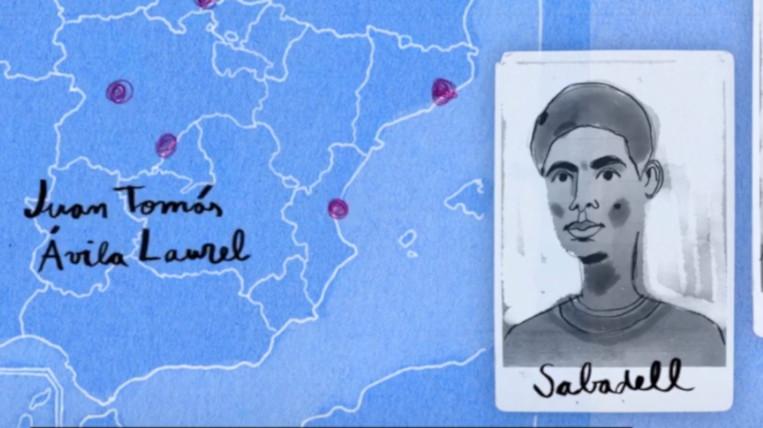 Un refugiat guineà resident a Sant Cugat, protagonista d'un documental nominat a set Premis Goya