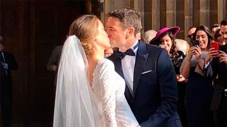 Tommy Robredo es casa amb Patricia Berga al Monestir
