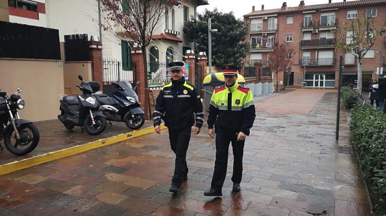Policia Local i Mossos d'Esquadra reforcen la vigilància durant les festes de Nadal