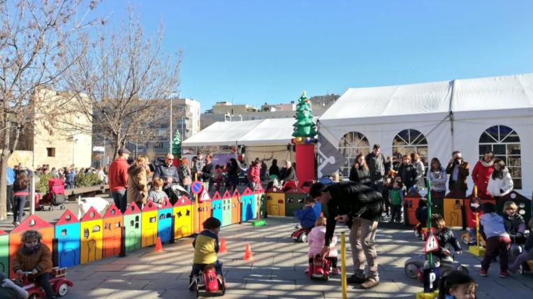 L'envelat dona el tret de sortida a les activitats de Nadal per al públic infantil i juvenil