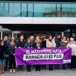 Sant Cugat es concentra per rebutjar un assassinat masclista a Terrassa