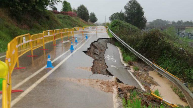 Més de 120 litres per metre quadrat de pluja a Sant Cugat i 53 trucades al 112
