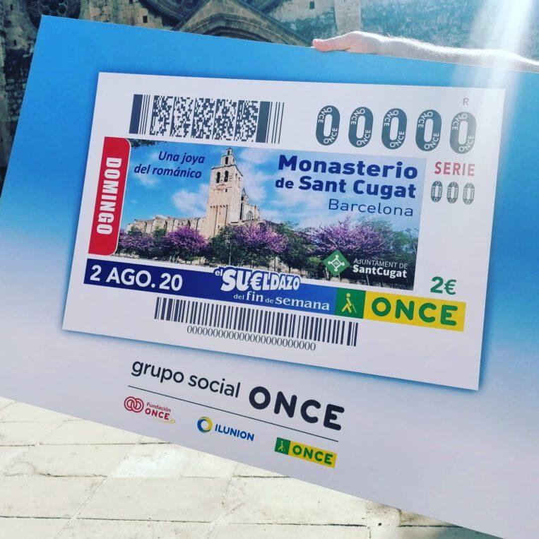 El Monestir serà el protagonista de 5,5 milions de cupons de loteria