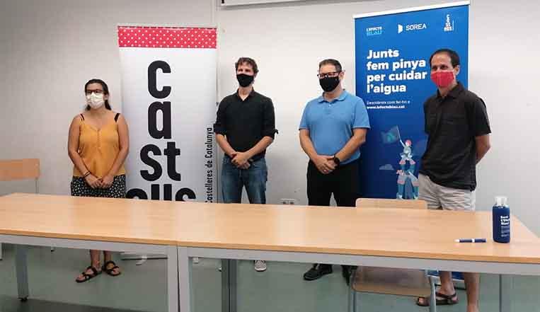 La Coordinadora de Colles Castelleres de Catalunya renova el conveni de col·laboració amb SOREA