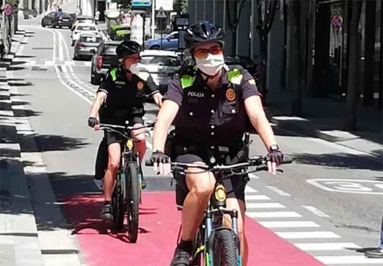 L'Ajuntament recupera la Policia Verda aquest mes d'agost amb 4 agents