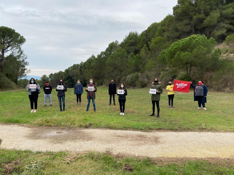 """El Jovent Republicà de Sant Cugat i Rubí s'adhereix al Manifest de la Plataforma """"Reconvertim el Camp de Golf"""""""