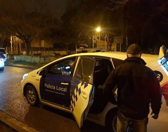 Detingut un santcugatenc per vendre droga a Mira-sol