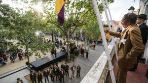 Sant Cugat commemora el 90è aniversari de la II República i ret homenatge a l'alcalde republicà Roc Codó