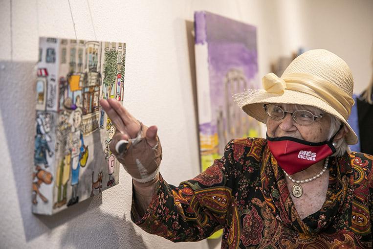 La Sala Rusiñol celebra el seu 35è aniversari amb una exposició de Pilarín Bayés
